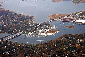 Aerial view of Barrington in 2008
