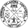 Official seal of Ardmore, Oklahoma