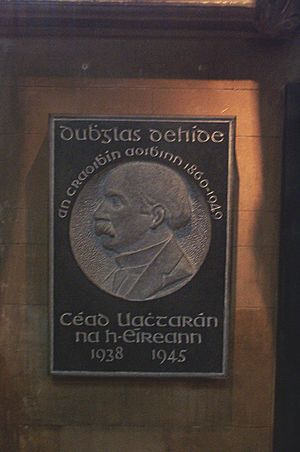 Douglas Hyde St Patrick's Cathedral Dublin 2006