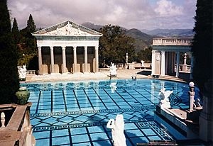 Hearst Castle pool