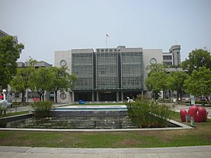 Minjhih Civic Center, Tainan City Government 20140318