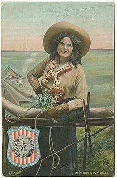 "The ""Lone Star"" Belle"