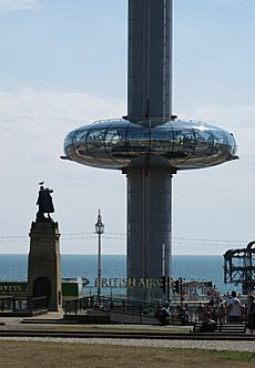 View of i360 in August 2016 - 4