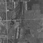 Aerial photo of Temvik as it appeared in 1991