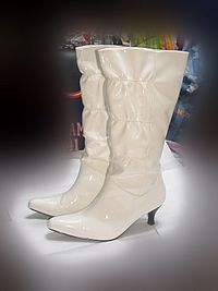 Boots-WhiteLeather-6cmHeel