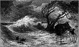 Chincoteague storm 1821