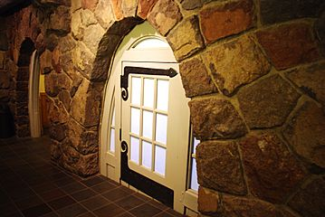 Small door at Timberline Lodge Oregon
