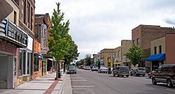 State Street in downtown Waseca in 2007