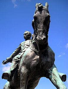 General Philip Sheridan Memorial - neigh