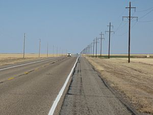 Highway 412 In The Oklahoma Panhandle