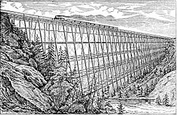 Lyman viaduct pacific railway 1876