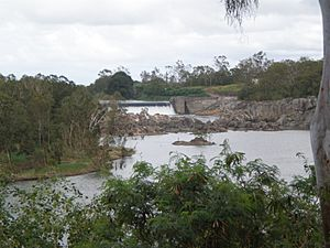 Mackay Weir Upstream