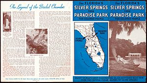 Promotional flyer for Paradise Park (pages 1 and 4)