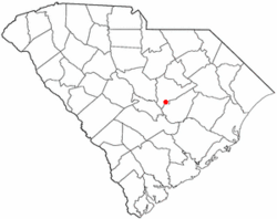Location of Pinewood, South Carolina
