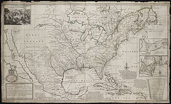 A new map of the north parts of America claimed by France under ye names of Louisiana... (2674873145)