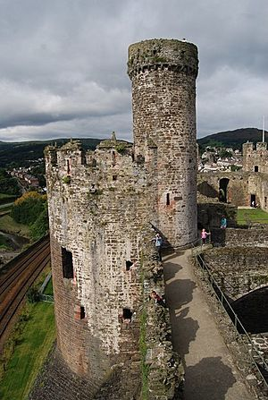 Conwy Castle - BakehouseTower - geograph.org.uk - 1480637