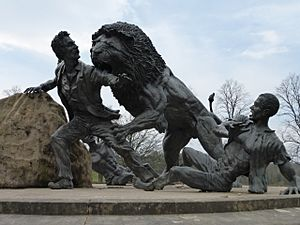 Livingstone-Lion sculpture, Blantyre