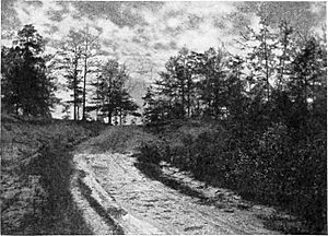 Place where Aaron Burr was captured, near Wakefield, Alabama