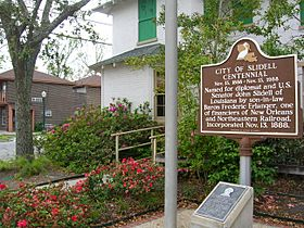 Slidell Historical Marker 2006-03-19