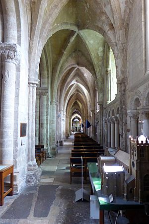 Southern Aisle at Christchurch Priory