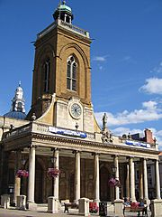 All Saints' Church in central Northampton