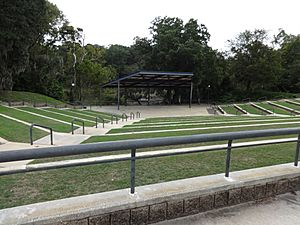 Ampitheater in Veterans Park, Albany