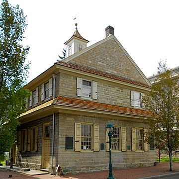 Chester Courthouse 1724