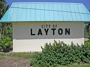 Layton Florida sign