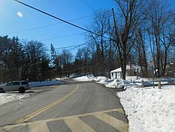 New York State Route 344 in Copake Falls.