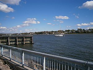 Perth Amboy waterfront Arthur Kill