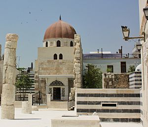 Saladin mouselum tomb Damascus