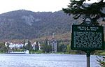 The Balsam Hotel in Dixville Notch, New Hampshire