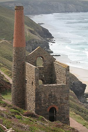 Tin mine near St Agnes 2