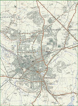 Extract of Ordnance Survey Map SU18