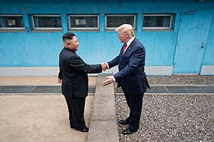 President Trump Meets with Chairman Kim Jong Un (48162628746)