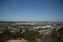 Central Mission Valley viewed from University Heights Park
