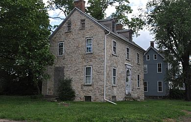 THE PAUL HOUSE, PAULSBORO, GLOUCESTER COUNTY