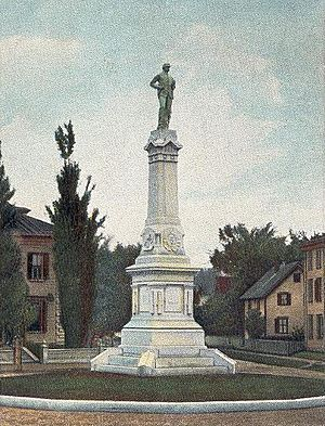 Soldiers' Monument at Beverly, MA