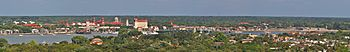 St. Augustine Florida Panoramic View