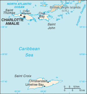 Virgin Islands-CIA WFB Map