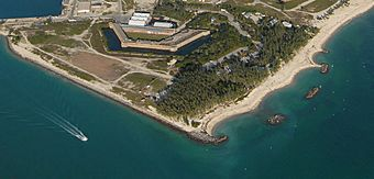 Aerial view of Fort Zachary Taylor State Park.jpg