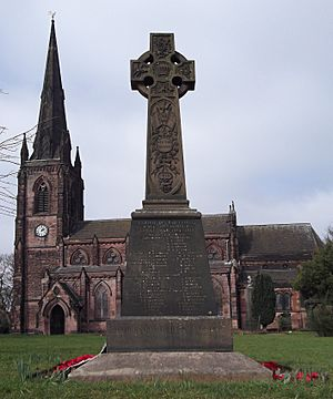 Hartshill War Memorial, Stoke-on-Trent Staffs
