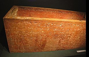 Hatshepsut's sarcophagus for Thutmose I