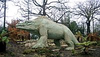 London - Crystal Palace - Victorian Dinosaurs 1