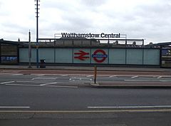 Walthamstow Central stn new entrance.JPG
