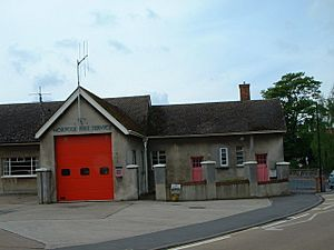 Fire Station, Downham Market. - geograph.org.uk - 170876