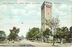 Postcard of the Fort in 1909