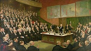 Henry Jamyn Brooks - A Friday Evening Discourse at the Royal Institution; Sir James Dewar on Liquid Hydrogen, 1904