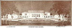 Piedmont High School 1920s