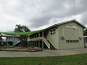 1954 Highset Timber School Building (Block E), Cannon Hill State School